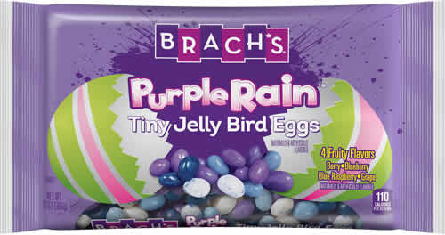 Brach's Purple Rain Tiny Jelly Bird Eggs packaging