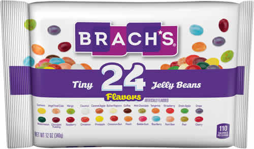 Brach's Tiny 24-Flavor Jelly Beans packaging