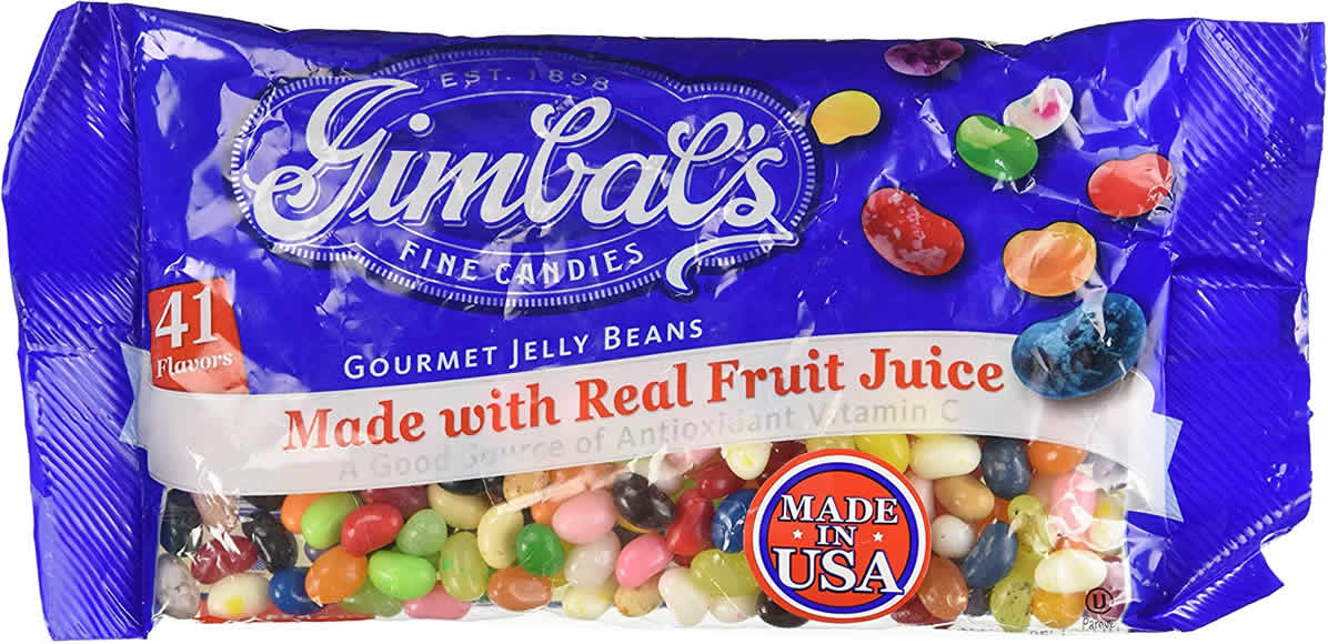 Gimbal's Gourmet Jelly Beans packaging