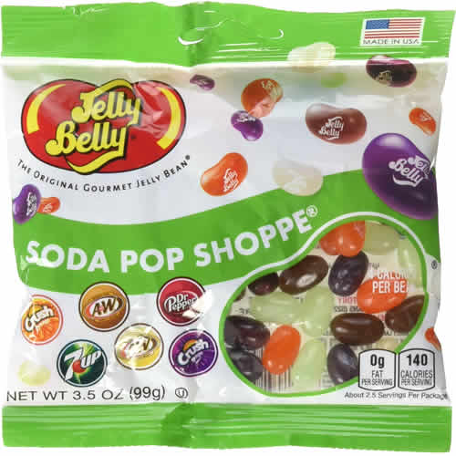 Jelly Belly: Soda Pop Shoppe packaging