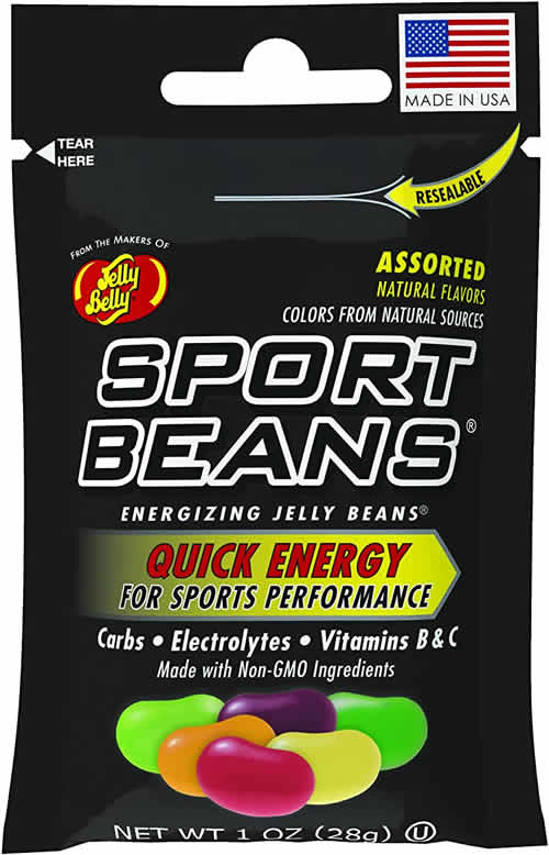 Jelly Belly Sport Beans packaging