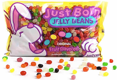 Just Born Jelly Beans: Original Fruit Flavored packaging