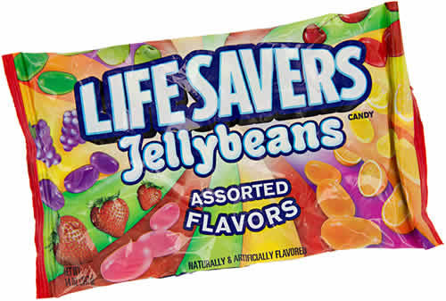 Life Savers Jelly Beans: Assorted Flavors packaging