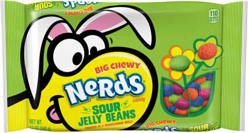 Big Chewy Nerds Sour Jelly Beans packaging