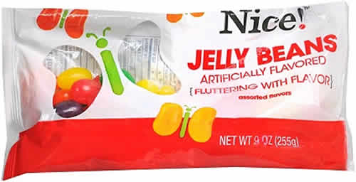 Nice! Jelly Beans: Assorted Flavors packaging