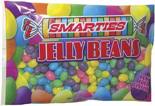 Smarties Jelly Beans packaging