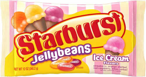 Starburst Jelly Beans: Ice Cream Flavors – A Boy and His Beans