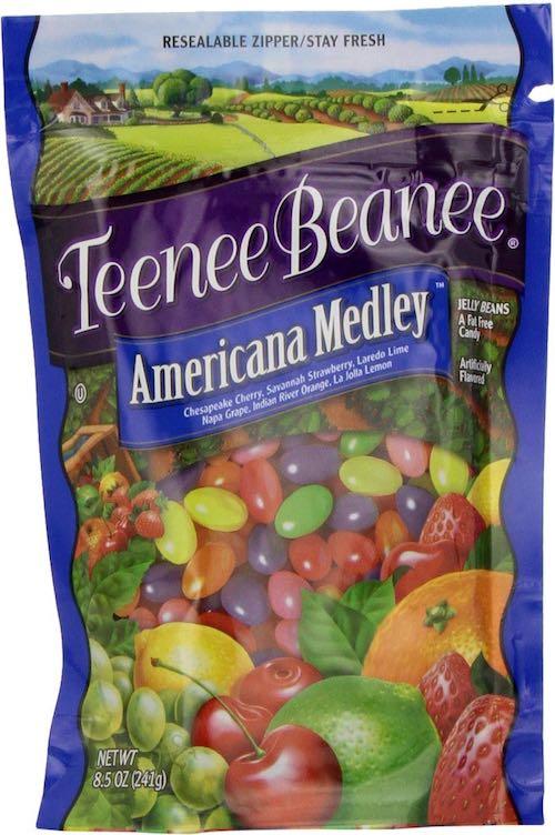 Teenee Beanee: Americana Medley packaging
