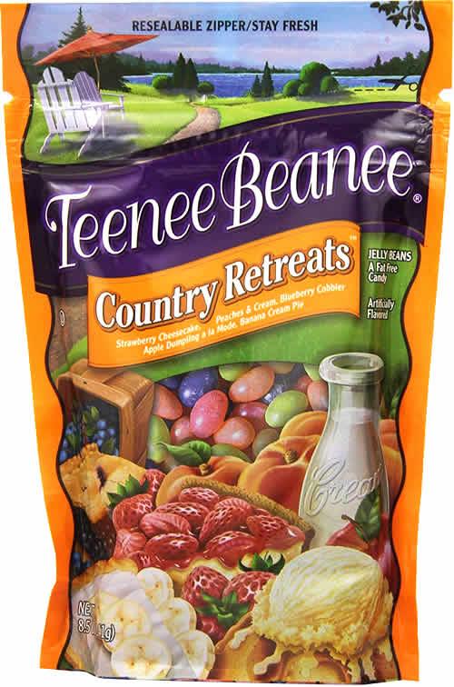 Teenee Beanee: Country Retreats packaging