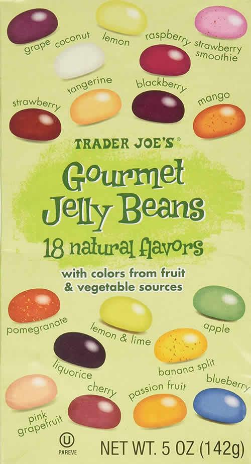 Trader Joe's Gourmet Jelly Beans packaging