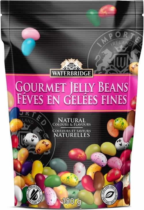 Waterbridge Gourmet Jelly Beans packaging