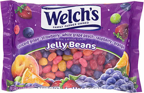 Welch's Jelly Beans packaging